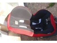 Britax Prince car seat for 9 to 18 kilos child