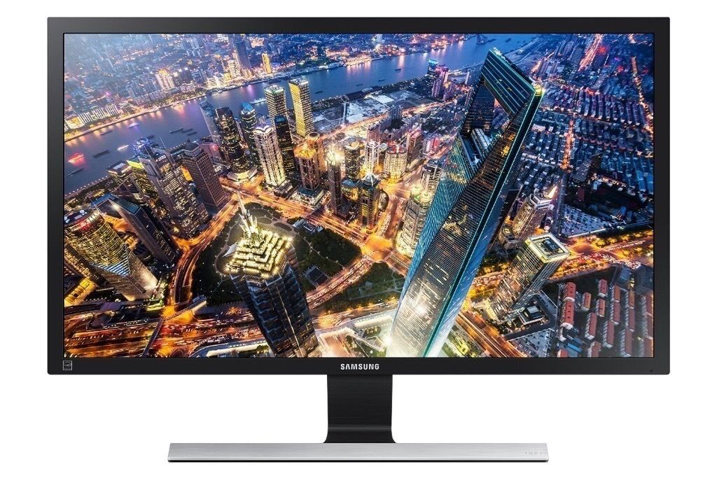 "Samsung 28"" 4K HDMI LED Monitor Ultra HD TV with HDMI 2.0 and DisplayPort - U28E590D"