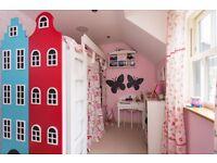 Dutch house high sleeper bed - one off design