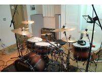 """I am selling some great cymbals by Ufip - """"20 ride """"16 crash """"12 hi hat"""