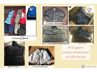 boys clothes 11-12 years bundle collection only from didcot from a smoke free home