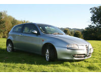Breaking Alfa 147, very good wheels and tyres,