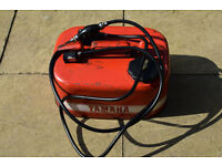 Boat Fuel Tank - Yamaha Vintage Metal Fuel Tank for Outboard Motor with Fuel Line & Primer Bulb