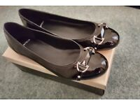 BRAND NEW Carvela Black Patent Ballet Shoes