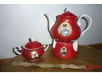 Persian Tea Pot & Warmer Set