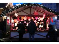Salesperson for German Christmas market in York