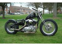 Harley Davidson one off custom 1200 Bobber / chop... new build
