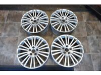 "18"" ORIGINAL VOLKSWAGEN ALLOY WHEELS SET OF 4."