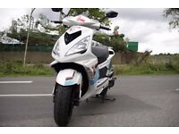 Peugeot Speedfight 3 125 FSH CBT A1 Immaculate moped not ybr yzf125