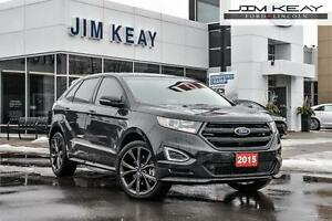 2015 Ford Edge Sport AWD 2.7L GTDI V6 ENGINE W/ NAVIGATION, PANO