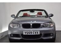 BMW 1 SERIES 2.0 118I M SPORT 2d 141 BHP (grey) 2010