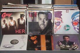 "200 x 12"" R&B / Urban / Neo Soul / Swing Vinyl Collection 1990s"