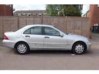 Mercedes C220 Diesel Manual 218K miles. Good fuel economy, with some aesthetic wear and tear