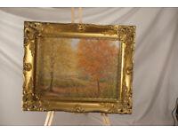 original Oil Painting - Autumn Royal Deeside