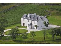 General Assistant (Live-in). Inchndamph Lodge Hostel / B&B, Assynt, Nr Lochinver, Sutherland