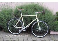 Special Offer GOKU CYCLES Steel Frame Single speed road bike TRACK bike fixed gear BIKE AA5
