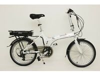 GREENWAY Folding electric bike, Samsung cell lithium battery LCD, PAS system £775