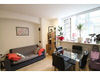 Studio flat, canalside, day concierge, walk to Canary Wharf & DLR station, comes furnished