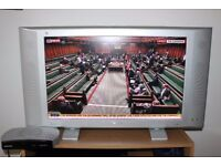 PHILIPS LCD TV + FREEVIEW BOX in good working order