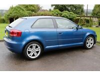 AUDI A3 SPORT 1.4 TFSI. Only 41,806 miles, One Lady Owner. Nr Cardiff