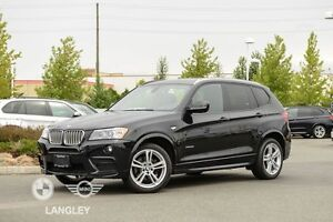 2012 BMW X3 xDrive35i Technology Package, Premium Package, Execu