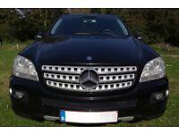 LHD Mercedes-Benz 320 CDI, Sport,4x4 2005/2006