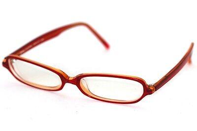 JIN's CMD-C4-601 Brille Rot glasses lunettes FASSUNG (Jins Brille)
