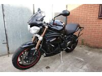 Triumph Speed Triple 1050 Black Motorbike