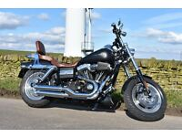 Harley Fat Bob with extras would consider PX with VW Splitscreen