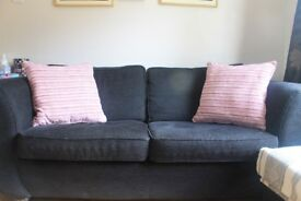 Pink/Cream Stripe Scatter Cushions