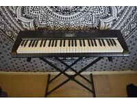 **Casio (CTK-1200AD) Full Size Keyboard [Stand, Protective Sleeve and Carry Bag Included]**