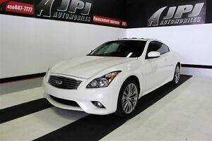 2012 Infiniti G37x NAVI ** IMPECABLE ** DEMARREUR A DISTANCE **