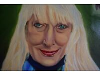 commissioned portraits & figure painting in oil undertaken.