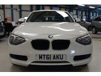 BMW 116d ES [AIR CON / FOGS / 16'' ALLOYS] (alpine white) 2011