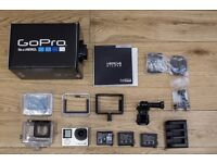 GoPro4 Silver with Triple Charger