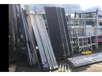 Boss Youngman aluminium scaffold tower complete