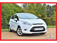 (Auto 29000 Miles) -- 2012 Ford Fiesta 1.4 Zetec Automatic -- 5 Door -- HPi Clear -- Low Mileage