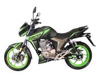 NEW ZONTES SCORPION 125CC, GREEN, OWN FOR £8.00 PER WEEK