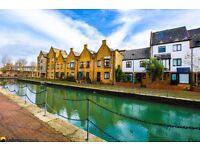 Canal side living in this peaceful and tranquil corner of London only 5 mins walk from Tower Bridge!