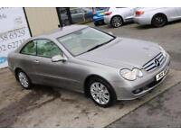 LATE 2006 MERCEDES-BENZ CLK 220 CDI ELEGANCE AUTO 148 BHP COUPE (FINANCE & WARRANTY)