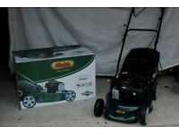 Almost new Petrol Lawnmower only used once