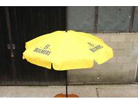 Bulmers Cider Pub Garden Parasol Umbrella Breweriana
