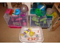 Pico XL Hamster/Mouse Cage Cages, Great condition plus extras 2@ £20 each ono, H 47 x W 50 x D 36 cm
