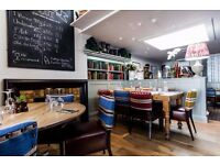 Strong CDP required for busy gastro pub in the heart of Chelsea