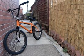 Custom BMX With Profile Elite Hubs Spare Parts Included Trade For Dirt Jump Bike
