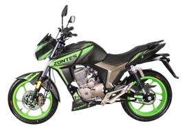 NEW ZONTES SCORPION 125CC, OWN FOR £8.00 PER WEEK