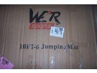 NEW REPLACEMENT TRAMPOLINE JUMPING MAT, WER Sports 10ft-6 Jumping mat.
