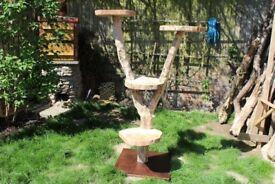 Stunning handmade cat tree