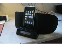 Apple iPod Touch 2nd Gen 32GB with DAB radio speaker/charging dock.
