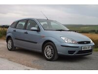 Ford Focus LX 2004 5-door hatchback. Petrol 1.6